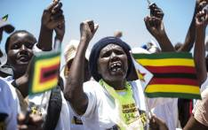 Supporters attend a Zimbabwe African National Union-Patriotic Front (Zanu PF) youth interface rally in Bulawayo on November 4, 2017. Picture: AFP