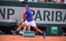 FILE: Rafael Nadal in action during his French Open quarterfinals match against fellow Spaniard Pablo Carreno Busta. Picture: Twitter/@rolandgarros.