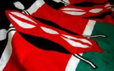 FILE: Kenyan flag. Picture: AFP.