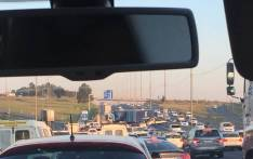 NA accident on the N3 south saw traffic backed-up on Thursday 26 April 2018. Picture: Twitter/@fayob19