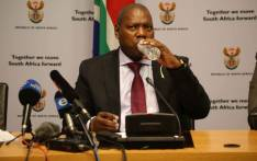 Cooperative Governance and Traditional Affairs Minister Zweli Mkhize addresses the media in Parliament on behalf of government's task team on the water crisis. Picture: Cindy Archillies/EWN