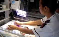 FILE: A newborn baby in an incubator. Picture: EWN