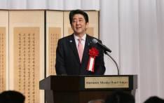 Japanese Prime Minister Shinzo Abe. Picture: @AbeShinzo.