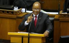 South African President Jacob Zuma delivers his State of the Nation Address on 9 February 2017 in Parliament. Picture: AFP.