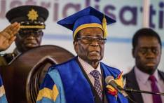 Zimbabwe's President Robert Mugabe delivers a speech during a graduation ceremony at the Zimbabwe Open University in Harare, where he presides as the chancellor on 17 November 2017. This is his first public appearance since a military takeover on 14 November 2017. Picture: AFP.