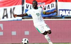 Senegal's Sadio Mane during his team's international friendly against Croatia at Stadion Gradski in Croatia on 8 June 2018. Picture: Reuters.