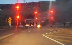 All the exits out of Atteridgeville blocked by xenophobia protesters on 24 February 2017. Picture: Twitter/@EWNTraffic.