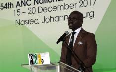 Finance Minister Malusi Gigaba during the PGF Breakfast at Nasrec on 16 December 2017. Picture: Louise McAuliffe/EWN.