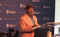 Eskom board chairperson Jabu Mabuza announces the utility's financial results on 30 January 2018. Picture: Gia Nicolaides/EWN