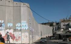 FILE: A separation barrier under construction by the state of Israel created to keep Palestinians in the Israeli-occupied territories of the West Bank and Gaza out of Israel. Picture: Wikimedia Commons