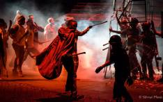 A scene on stage from 'Marikana the Musical' at the State Theatre. Picture: Supplied.