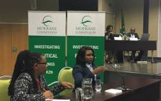The fiancee of murdered uMzimkhulu councillor Mduduzi Tshibase Phumza Diko testifies at the Moerane Commission of Inquiry on 16 January 2017. Picture: Ziyanda Ngcobo/EWN