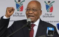 President Jacob Zuma speaks at Chris Hani's Memorial Service on 10 April 2017. Picture: Louise McAuliffe/EWN.