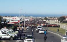 Hundreds of people marched in Hermanus for land and housing on 16 May 2018. Picture: Supplied