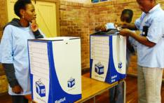 FILE: IEC officers set up ballot boxes ahead of elections. Picture: EWN