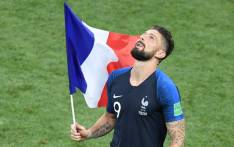 France forward Olivier Giroud. Picture: AFP