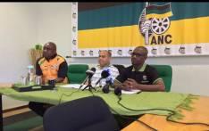Members of the ANC PEC including Acting chair Khaya Magaxa. Picture: Xolani Koyana/EWN