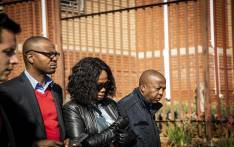 Given and Ipeleng Mkhari leave the Randburg Magistrates Court on 12 July. Picture: Kayleen Morgan/EWN