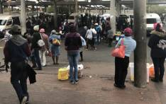 Many commuters were left stranded as a national bus strike got underway on 18 April 2018. Picture: Graig-Lee Smith/EWN