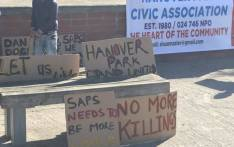 FILE: Posters seen during a march in Hanover Park on 26 August 2017, arranged by the Civic Association. Picture: Monique Mortlock/EWN