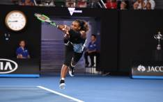 FILE: Serena Williams during the Australian Open. Picture: Twitter/@AustralianOpen