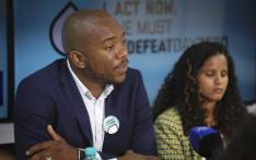 DA leader Mmusi Maimane addresses the media at a #DefeatDayZero briefing in Cape Town. Picture: Cindy Archillies/EWN