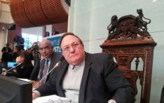 City of Cape Town Council speaker Dirk Smit. Picture: Twitter/@Priyared