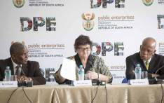 Minister Lynne Brown briefs the media on the appointment of the new Eskom board members on 15 December 2017. Picture: Thomas Holder/EWN