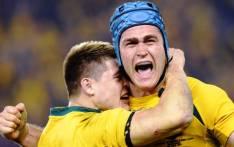 FILE: Australian Wallabies captain James Horwill and flyhalf James O'Connor.