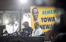 ANC secretary general Gwede Mantashe pictured (L) during a press conference at the ANC's 54th national conference on 16 December 2017. Picture: Thomas Holder/EWN.