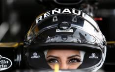 Saudi Arabian Aseel Al-Hamad, the first female member of the Saudi Arabian Motorsport Federation. Picture: Renault  Sports F1/Twitter