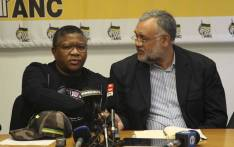 ANC head of elections Fikile Mbalula (left) and newly appointed Western Cape elections head, Ebrahim Rasool (right). Picture: Cindy Archillies/EWN