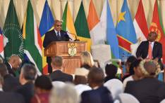 President Jacob Zuma addressing ambassadors and high commissioners from the African continent at this year's Africa Day Celebrations in Pretoria. Picture: @GovernmentZA.