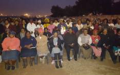 Thousands gather in Naledi, Soweto, to hold a night vigil against women abuse. Picture: Masa Kekana/EWN