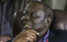 Zimbabwe's Movement for Democratic Change (MDC) leader Morgan Tsvangirai at a press conference on 16 November 2017 in Harare. Picture: AFP.