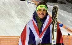 British aerial skier Lloyd Wallace. Picture: Twitter/@Lloyd_Wallace