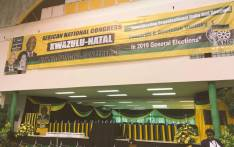 The stage is set ahead of the African National Congress' KwaZulu-Natal conference. Picture: Ziyanda Ngcobo/EWN.