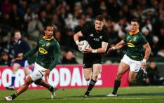 FILE: The All Blacks have beat the Springboks 57-0. Picture: Twitter/@Springboks.