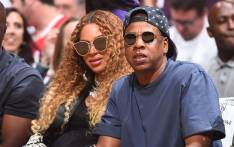 Beyonce and Jay-Z attend Game Seven of the Western Conference Quarterfinals of the 2017 NBA Playoffs on 30 April 2017 at STAPLES Center in Los Angeles, California. Picture: AFP