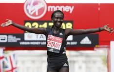 Kenya's Mary Keitany. Picture: AFP.