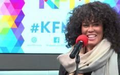 Whitney Houston tribute show lead singer, Belinda Davids. Picture: KFM