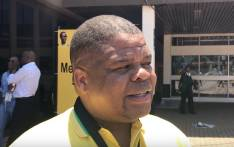 Energy Minister David Mahlobo at the ANC national conference at Nasrec, Johannesburg on 18 December, 2017. Picture: Christa Eybers/EWN