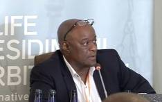 Doctor Barney Selebano giving his testimony at the Life Esidimeni arbitration hearings in Parktown. Picture: YouTube.
