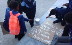 FILE: Pupils getting ready for the safe schools march in Cape Town. Picture: @equal_education/Twitter.