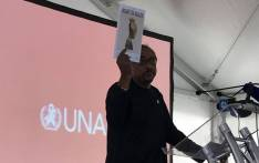 UNAids executive director Michel Sidibe at at event in Khayelitsha, Cape Town on 20 November 2017. Picture: @UNAIDS/Twitter