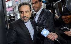 FILE: Iranian Deputy Foreign Minister Abbas Araqchi enters the mission of the European Union building on 17 December 2014. Picture: AFP.