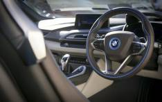 Inside the BMW i8, the first hybrid sports car with the consumption and emission values of a compact car. Picture: EWN