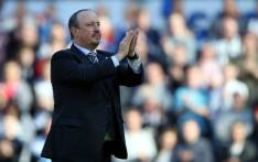 Newcastle United's Spanish manager Rafa Benitez. Picture: AFP.
