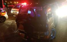 At least 16 people were injured following a collision between a taxi and a car in Brakpan, on Saturday 21 January 2018. Picture: @ER24EMS