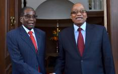 President Jacob Zuma receives President of the Republic of Zimbabwe, President Robert Mugabe during his official visit to South Africa to attend the second session of the South Africa-Zimbabwe Binational Commission held in Pretoria. Picture: GCIS.